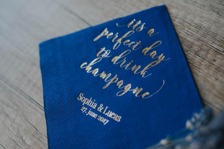 personalisierte servietten