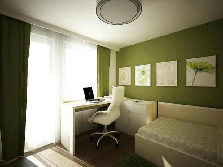 Узкая комната с балконом дизайн
