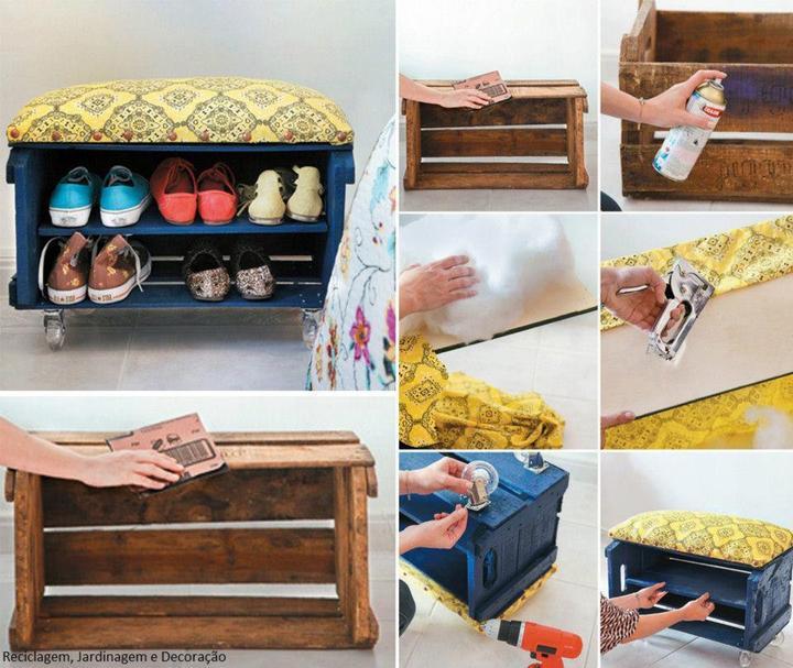 Из старой мебели сделать своими руками для прихожей
