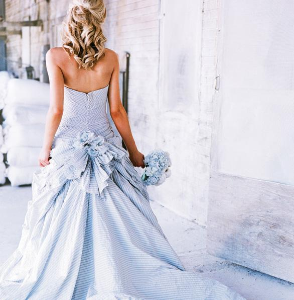 Голубые платья 2015 на свадьбу