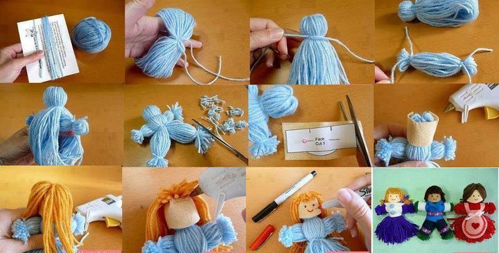 Кукла своими руками для детей пошаговое