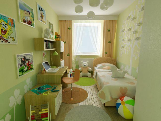 Детские комнаты для мальчиков дизайн в хрущевке