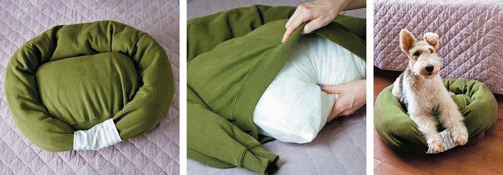 Как сшить подушку лежанку для кошек 90
