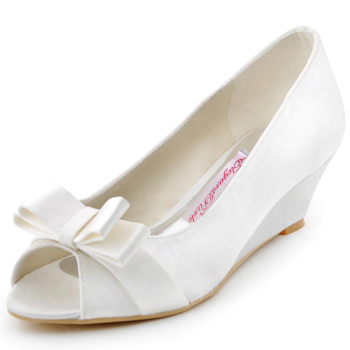 Akce pouze dnes 3.3. - svatební obuv na klínku ce0c524875