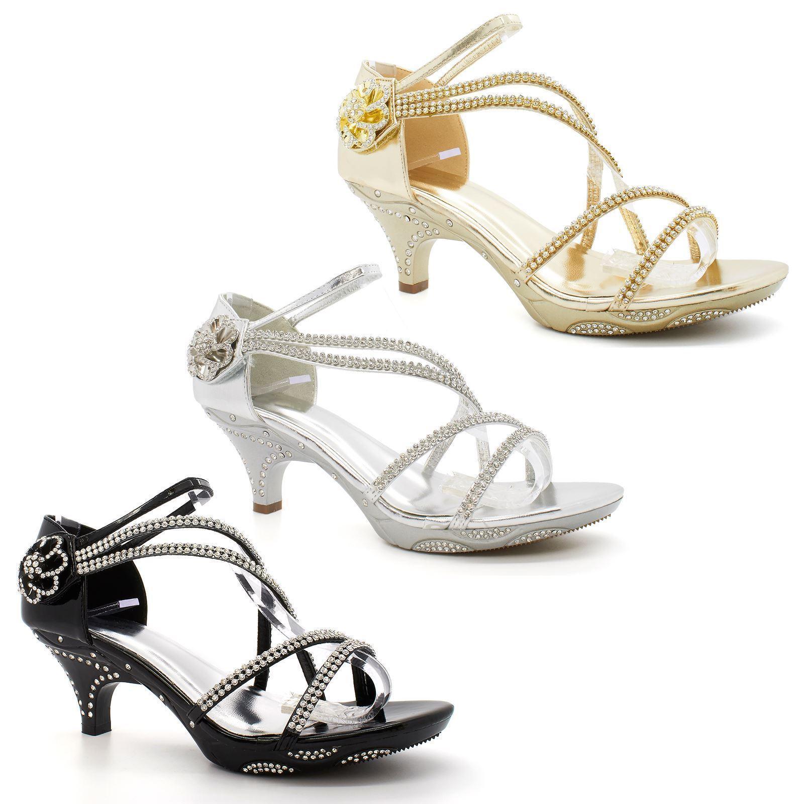 8edf10f6f53 Černé plesové sandálky