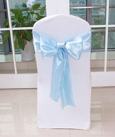 4x modrá stuha, na židle, holčičkám na šaty,