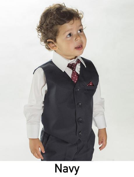 AKCE - béžový dětský oblek k zapůjčení, 80