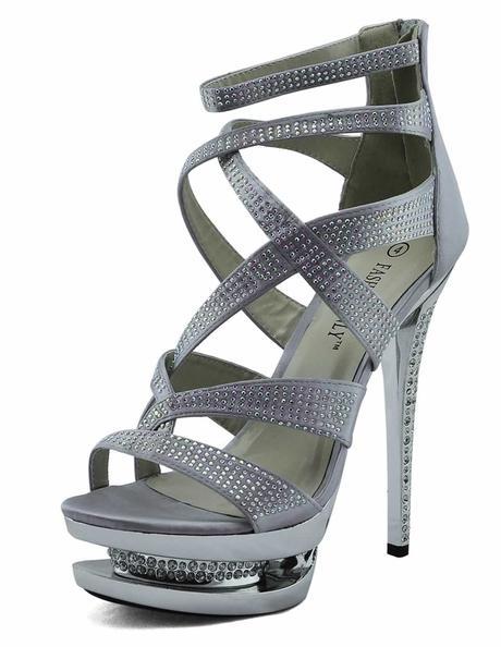 AKCE - černé extravagantní boty, 36-41, 36