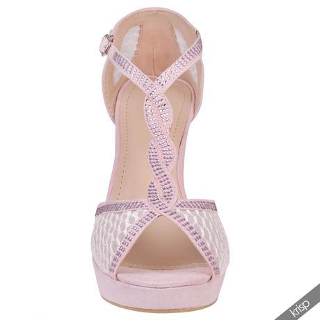 AKCE - černé plesové sandálky, 36-41, 40