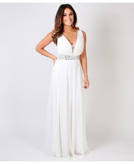AKCE - krémové společenské, svatební šaty, 36