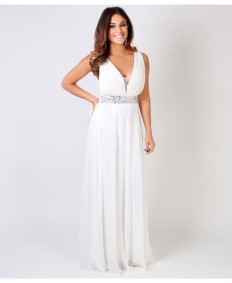 AKCE - krémové společenské, svatební šaty, 38