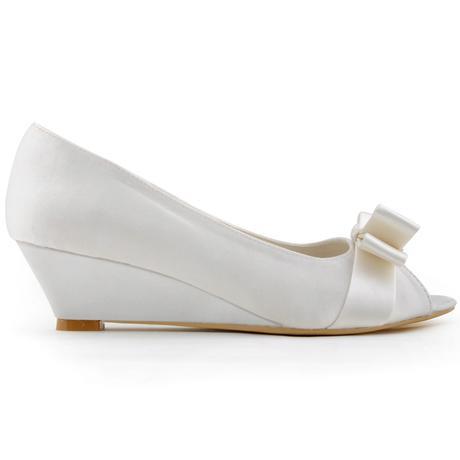 AKCE pouze dnes 3.3. - svatební obuv na klínku, 40