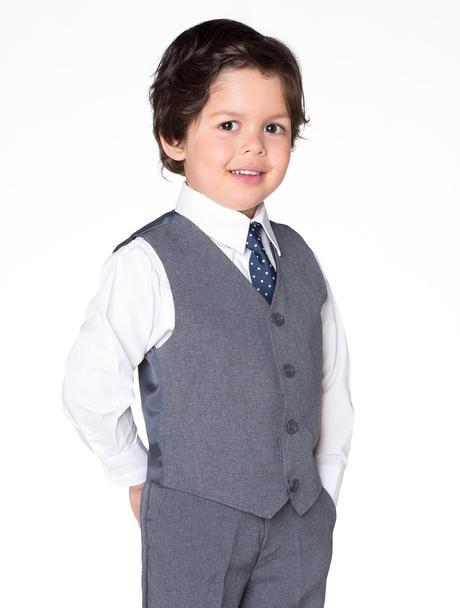 AKCE - šedý oblek k zapůjčení, k prodeji, 104