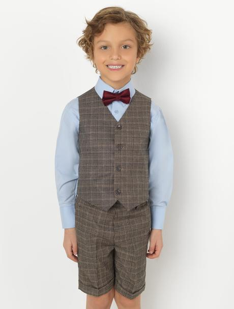 AKCE - šedý oblek k zapůjčení, k prodeji, 116