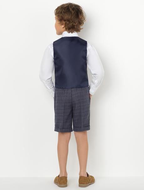 AKCE - šedý oblek k zapůjčení, k prodeji, 134