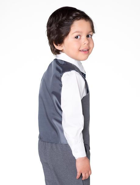 AKCE - šedý oblek k zapůjčení, k prodeji, 80