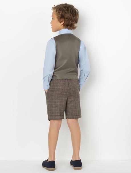 AKCE - šedý oblek k zapůjčení, k prodeji, 98