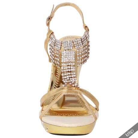 AKCE - stříbrné plesové sandálky, 36-41, 40