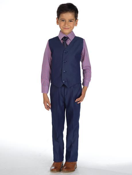 AKCE - tmavě modrý oblek, k prodeji, k půjčení, 128