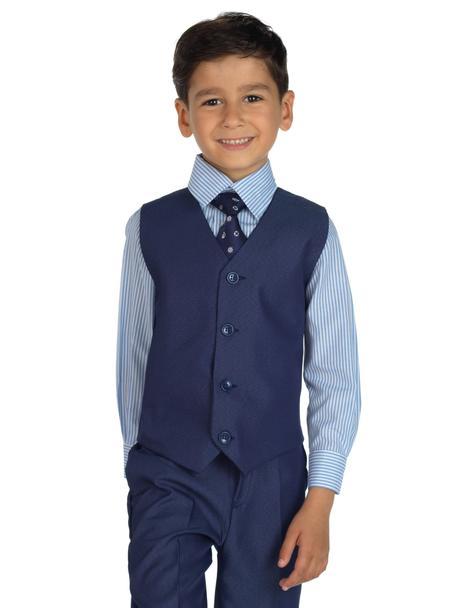 AKCE - tmavě modrý oblek, k prodeji, k půjčení, 122
