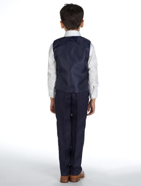 AKCE - tmavě modrý oblek, k prodeji, k půjčení, 68