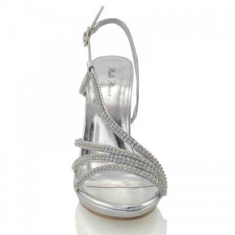 ASHLEIGH, černé plesové sandálky, 36-41, 37