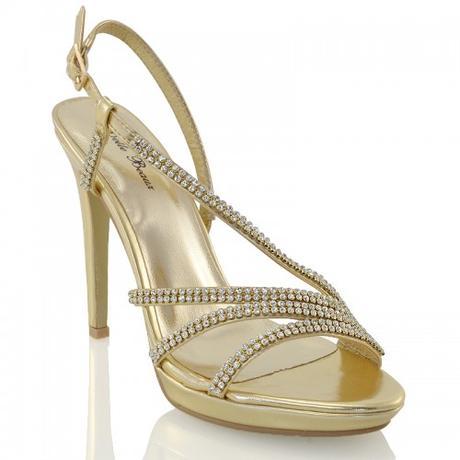 ASHLEIGH, stříbrné plesové sandálky, 36-41, 36