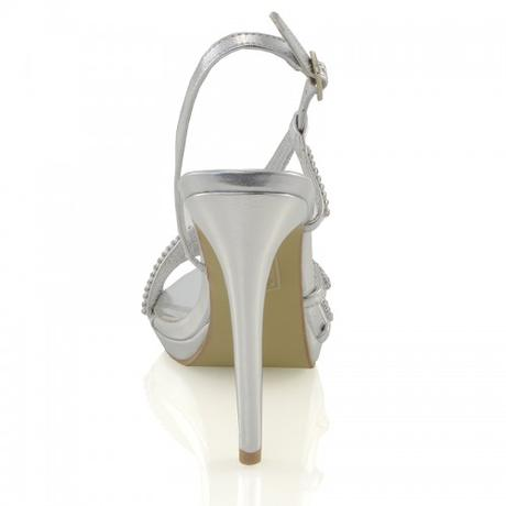 ASHLEIGH, zlaté plesové sandálky, 36-41, 37