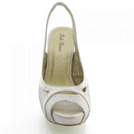 BELLE, ivory svatební lodičky, 36-41, 36