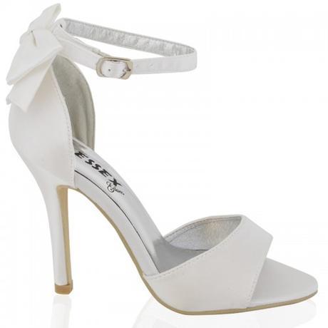 BERNADETTE, bílé svatební sandálky, 36-41, 36