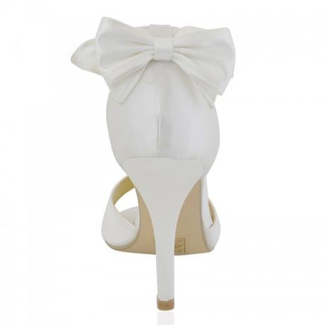 BERNADETTE, bílé svatební sandálky, 36-41, 37