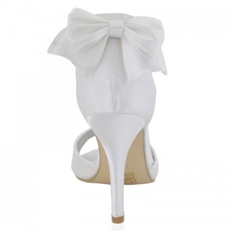 BERNADETTE, bílé svatební sandálky, 36-41, 38