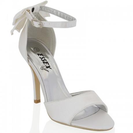 BERNADETTE, bílé svatební sandálky, 36-41, 39