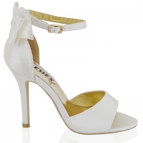BERNADETTE, bílé svatební sandálky, 36-41, 40