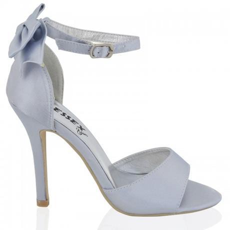 BERNADETTE, stříbrné společenské sandálky, 36-41, 40