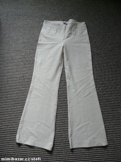 Béžové společenské kalhoty, 38