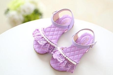Bílé dětské sandálky, 25-29, 25