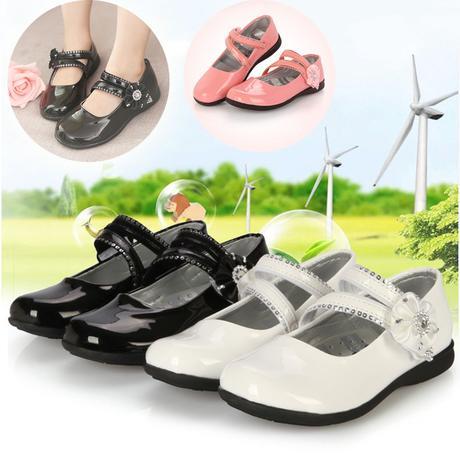 Bílé dětské svatební boty, 26-32, 27