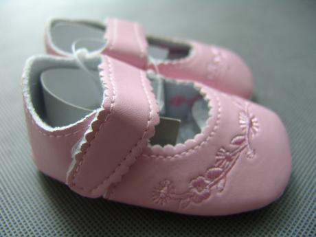Bílé, růžové dívčí capáčky - 16-20, 0-24 měsíců, 62