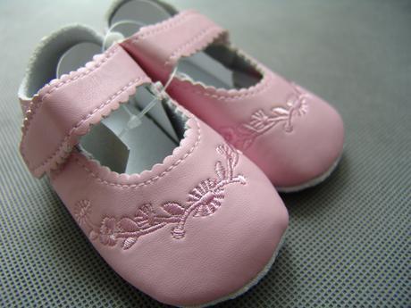 Bílé, růžové dívčí capáčky - 16-20, 0-24 měsíců, 68