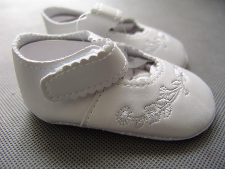 Bílé, růžové dívčí capáčky - 16-20, 0-24 měsíců, 74