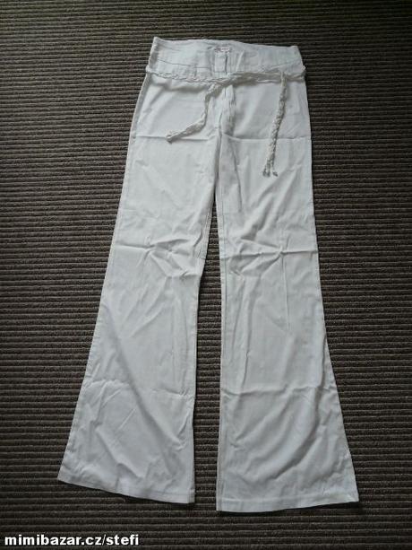 Bílé společenské kalhoty Orsay, 34