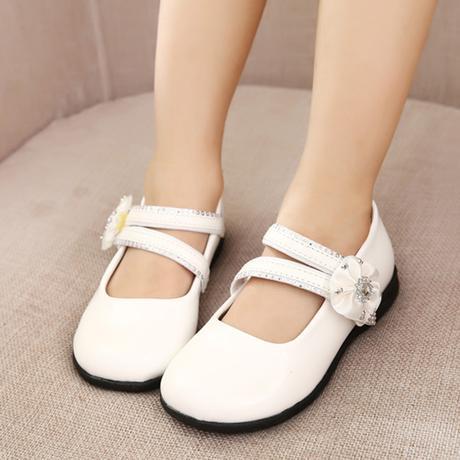 Bílé svatební dětské boty, 26-32, 31