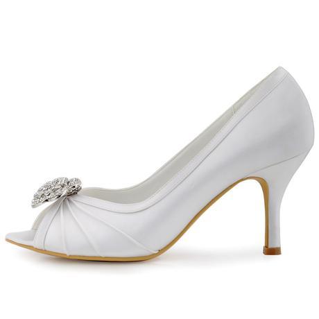 Bílé svatební lodičky, 35-42, 36