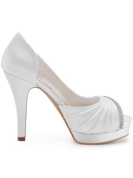 Bílé svatební lodičky, 35-42, 40