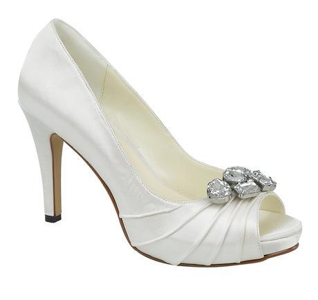 Bílé svatební lodičky, 36-41, 36