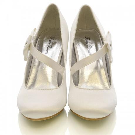 Bílé svatební lodičky, 36-41, 39