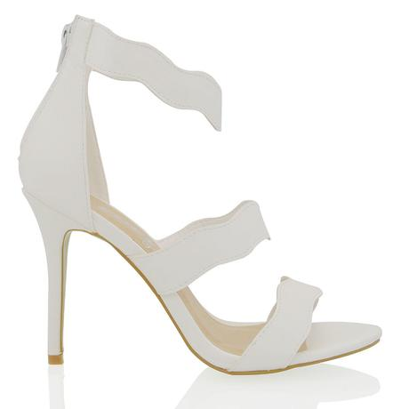 Bílé svatební sandálky, 36-41, 39