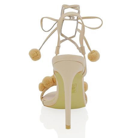 Bílé svatební, společenské sandálky, 36-41, 37