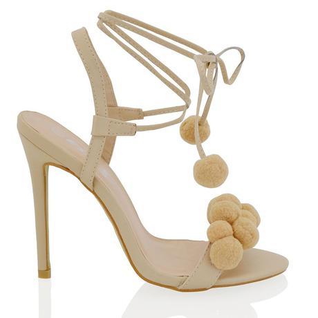 Bílé svatební, společenské sandálky, 36-41, 40